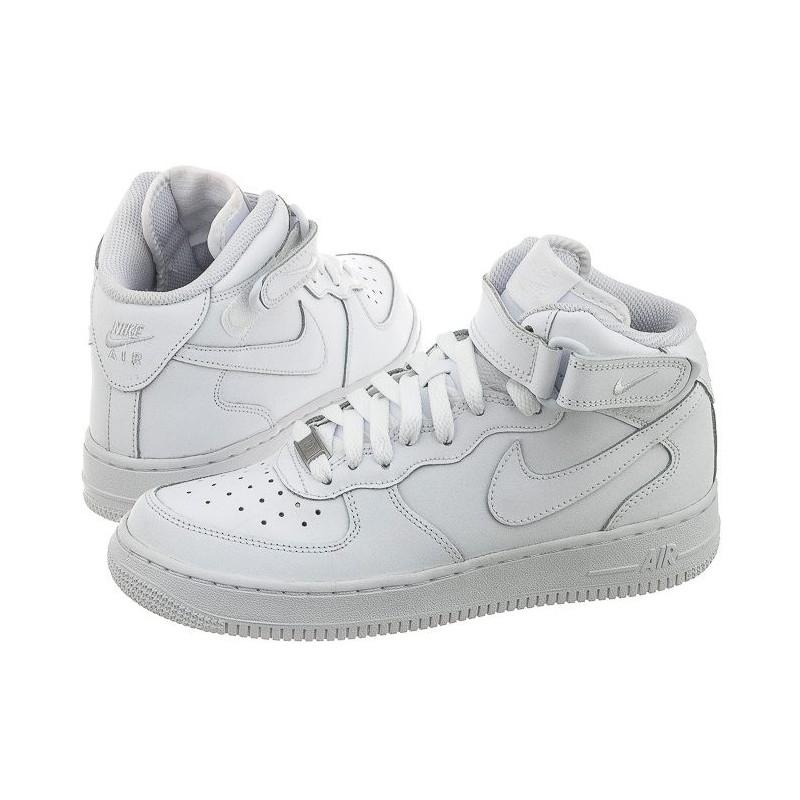 Nike AIR Force 1 Mid (GS) 314195-113 (NI408-a) bateliai