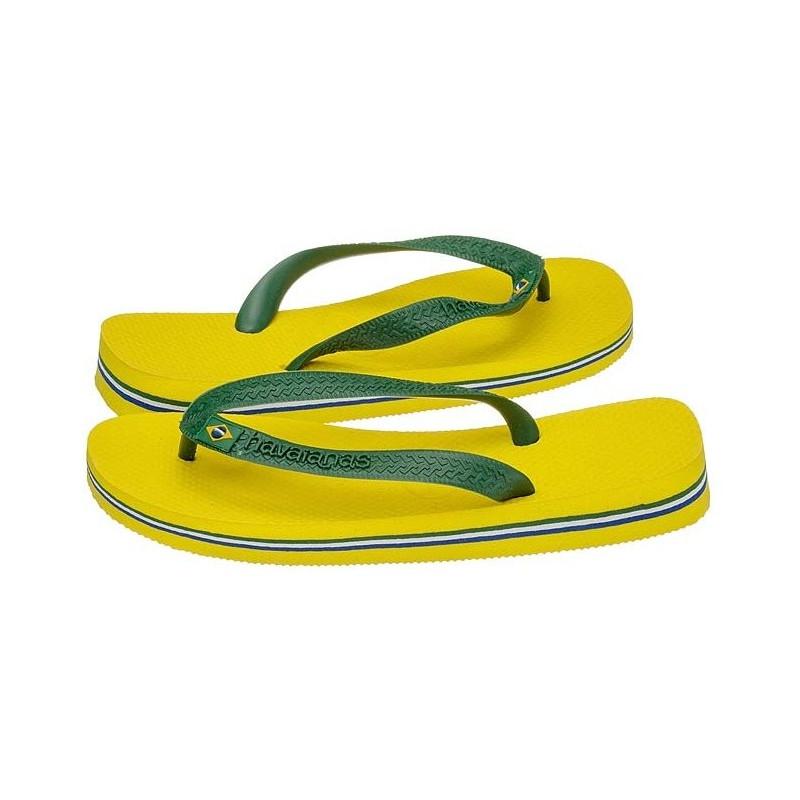 Havaianas Brasil Amarelo Citrico Citrus Yellow 4000032-2197 (HI4-e) šlepetės