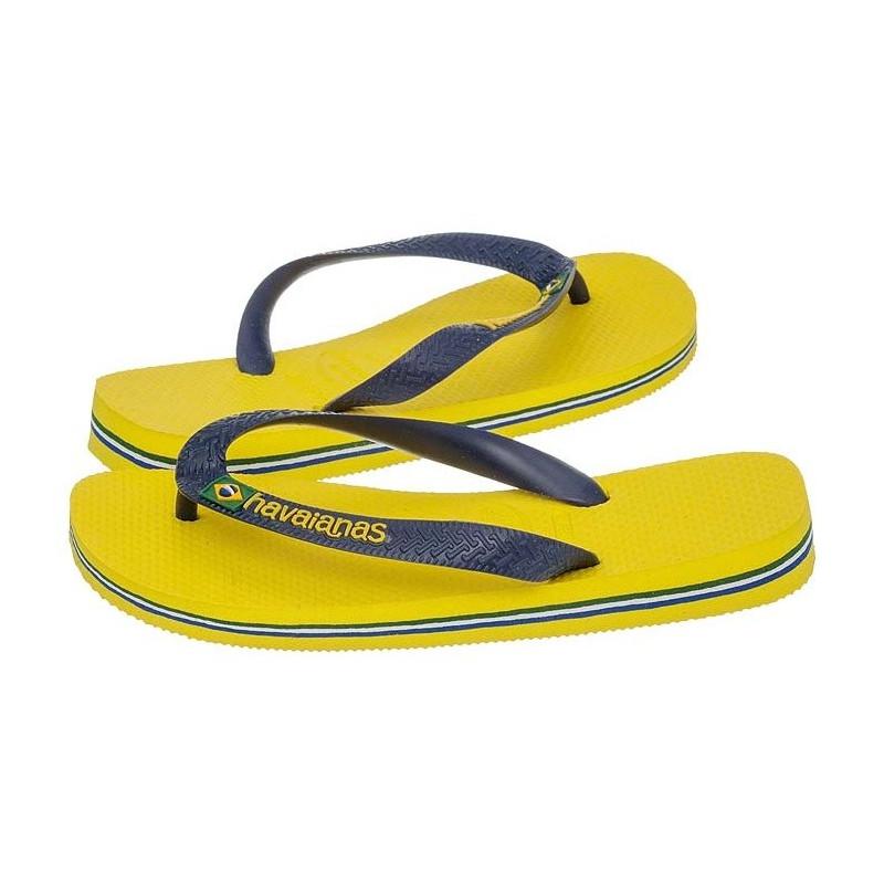 Havaianas Brasil Logo Amarelo Citrico Citrus Yellow 4110850-2197 (HI1-g) šlepetės