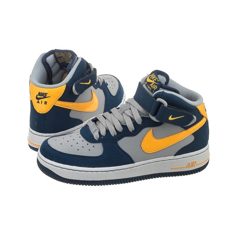 Nike AIR Force 1 Mid (GS) 314195-027 (NI408-d) bateliai