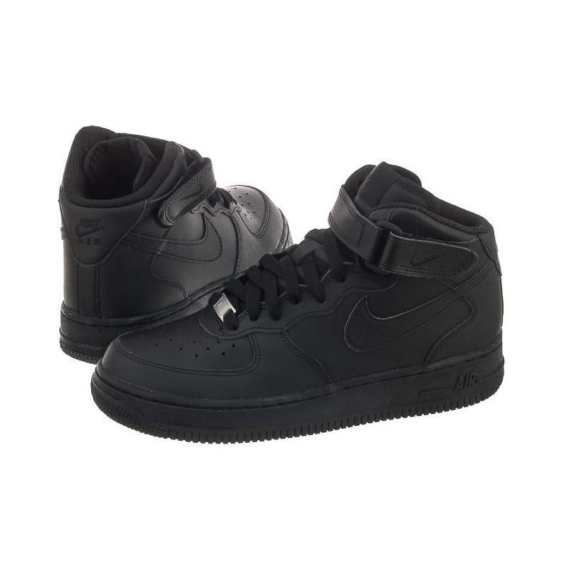 Nike AIR Force 1 Mid (GS) 314195-004 (NI408-b) bateliai