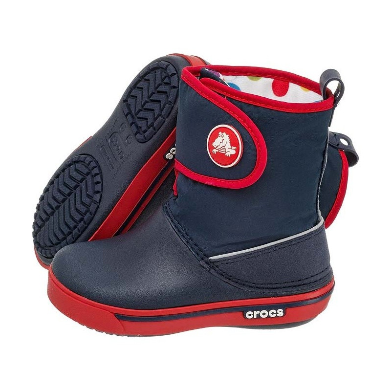 Crocs Crocband II.5 Gust Boot Kids Navy-Red 12905 (CR43-a) avalynė