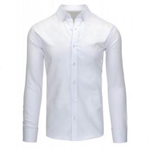 Marškiniai (Koszula męska biała DX1130 - Drabuziai rubai internetu