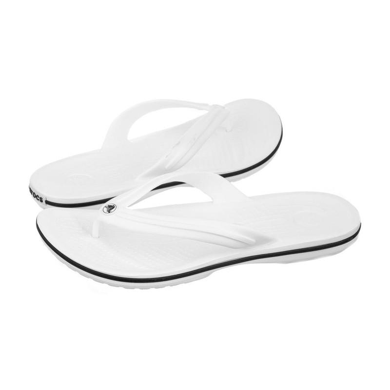 Crocs Crocband Flip White 11033-100 (CR86-g) šlepetės