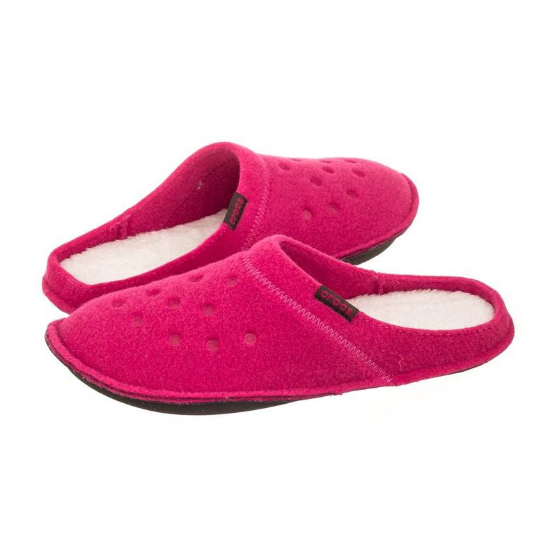Crocs Classic Slipper Candy Pink/Oatmeal 203600-6ME (CR131-a) šlepetės