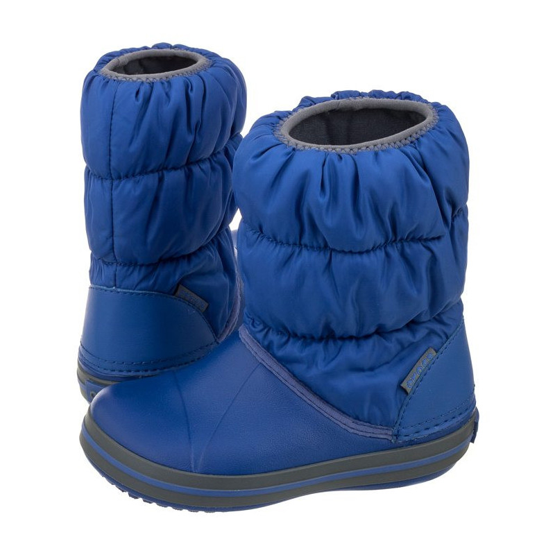 Crocs Winter Puff Boot Kids Cerulean Blue 14613-4BH (CR61-c) avalynė