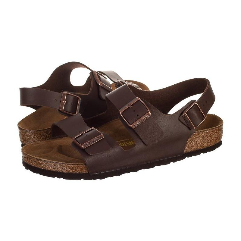 Birkenstock Milano 034701 Brązowe (BK9-a) sandalai