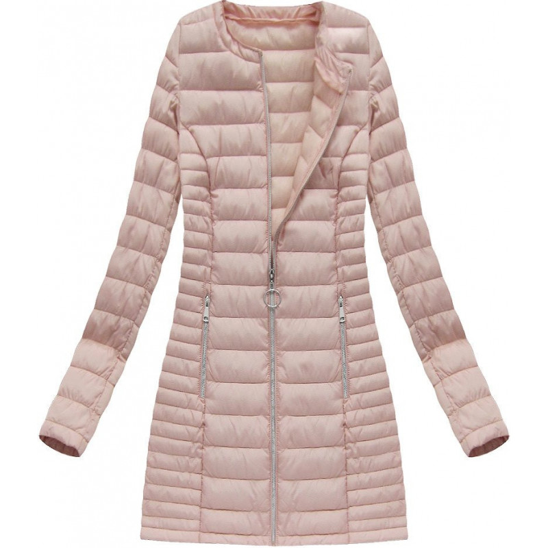 QUILTED JACKET GREY (W81) striukė