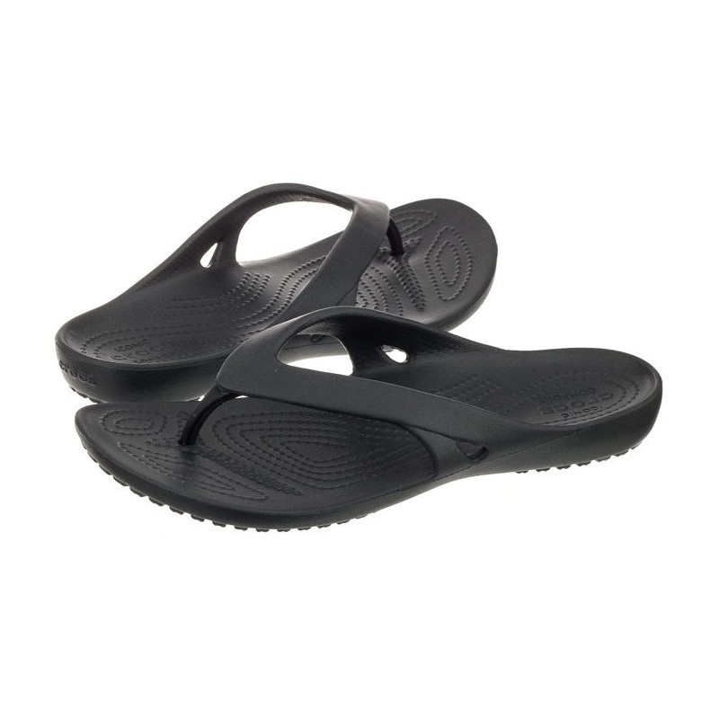 Crocs Kadee II Flip W Black 202492-001 (CR119-a) šlepetės