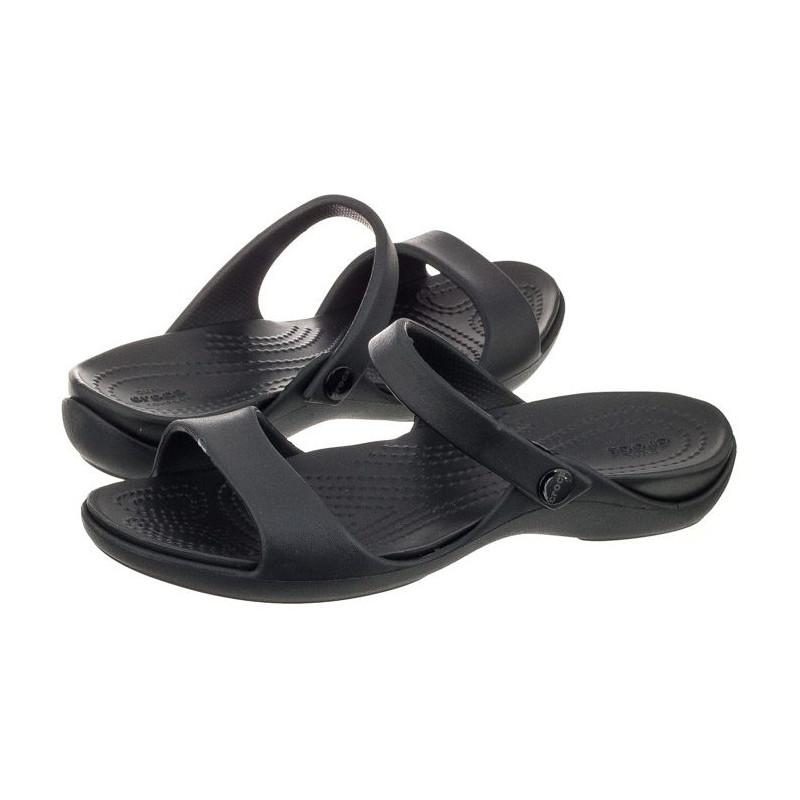 Crocs Cleo V Black 204268-060 (CR121-c) šlepetės