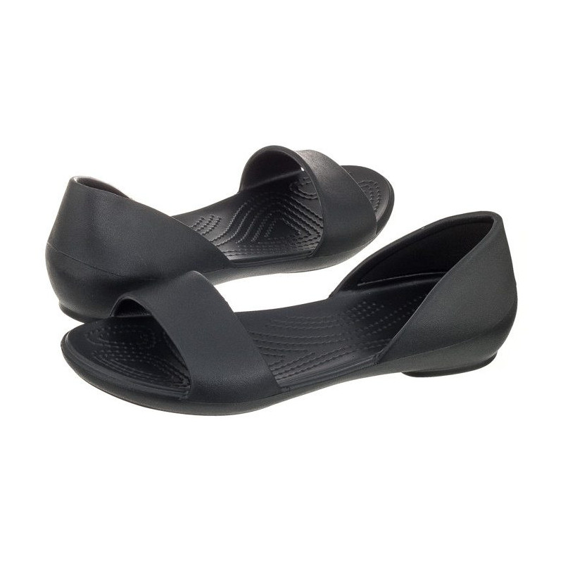 Crocs Lina Dorsay Black 204291-001 (CR123-a) sandalai