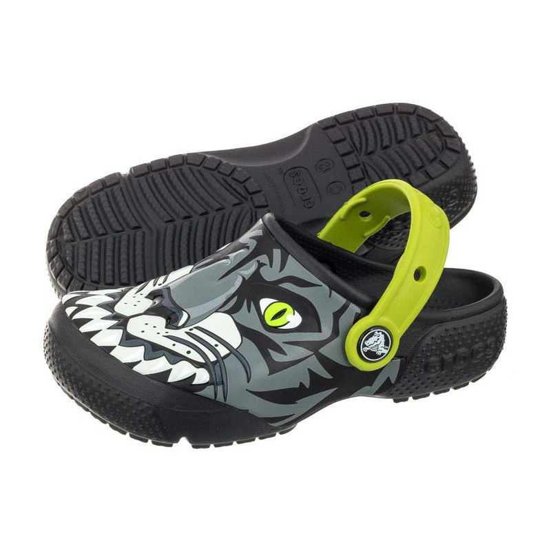 Crocs Funlab Clog Tiger Graphite 204119-92S (CR126-b) avalynė