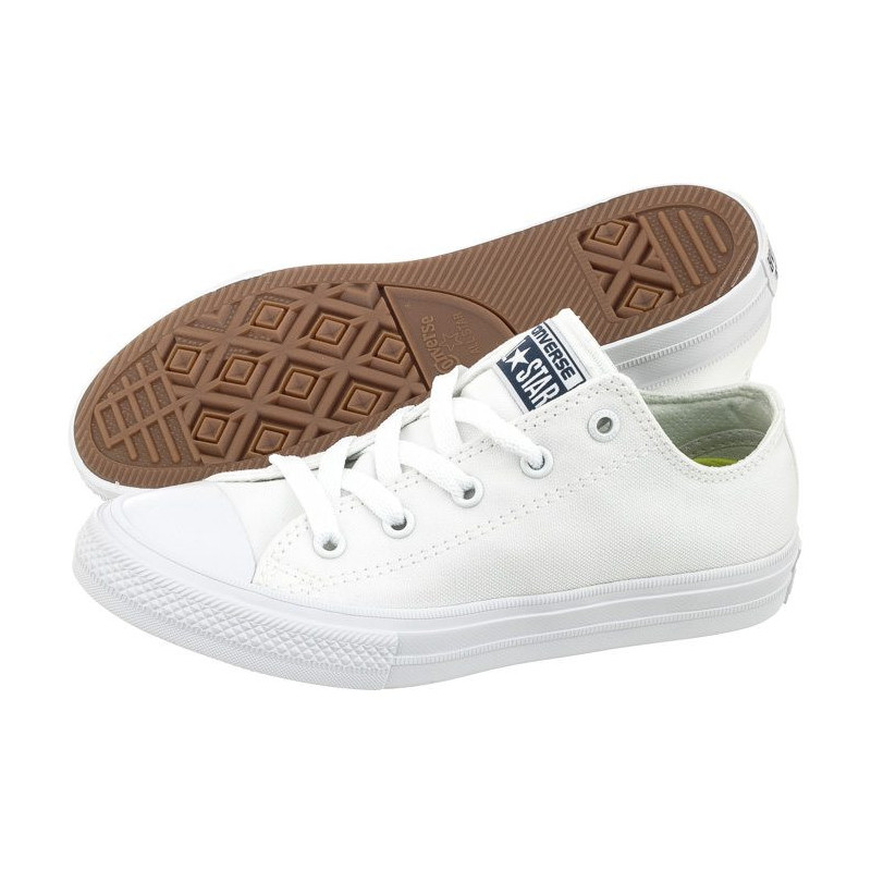 Converse CT All Star II OX White 350154C (CO300-a) avalynė