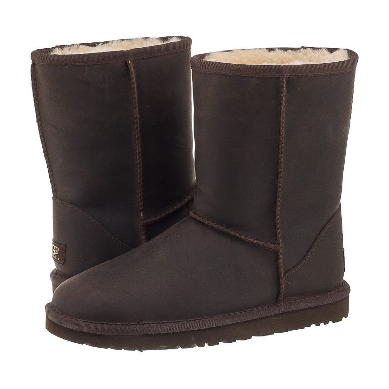 UGG Australia Classic Short Leather Brownstone 1005093W/BWST (UA4-a) bateliai