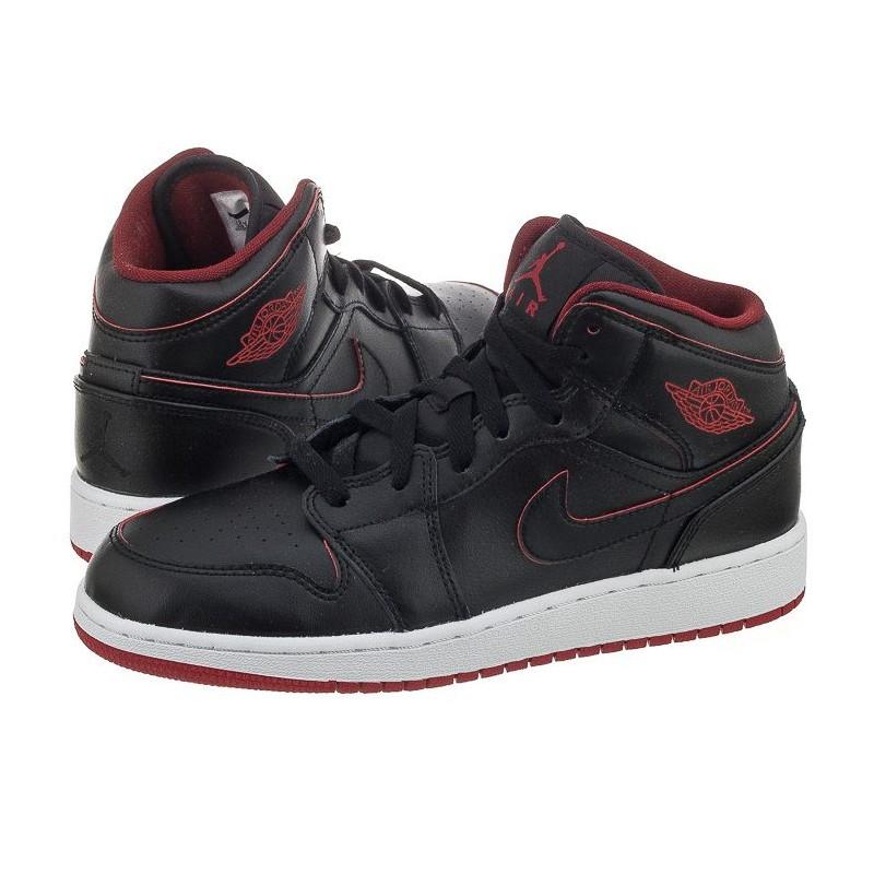Nike Air Jordan 1 Mid BG 554725-028 (NI591-d) bateliai