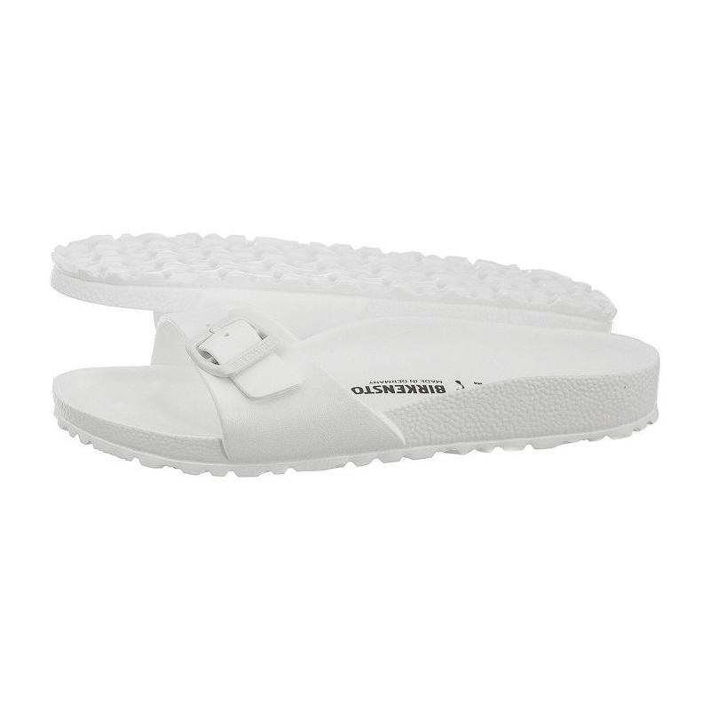 Birkenstock Białe Madrid 0128183 (BK37-d) šlepetės