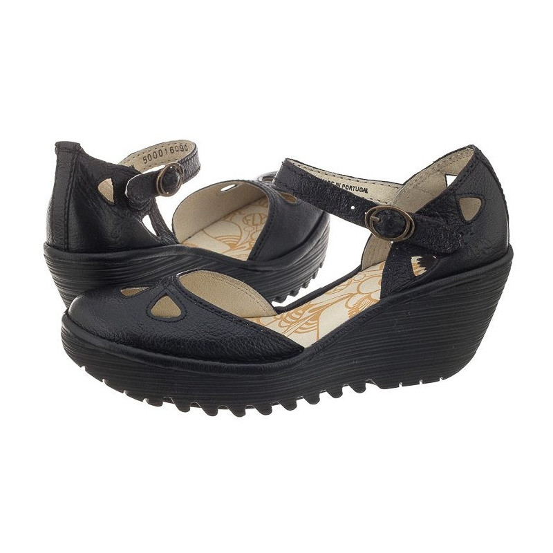 FLY London Yuna Musse Black P500016090 (FL164-c) batai