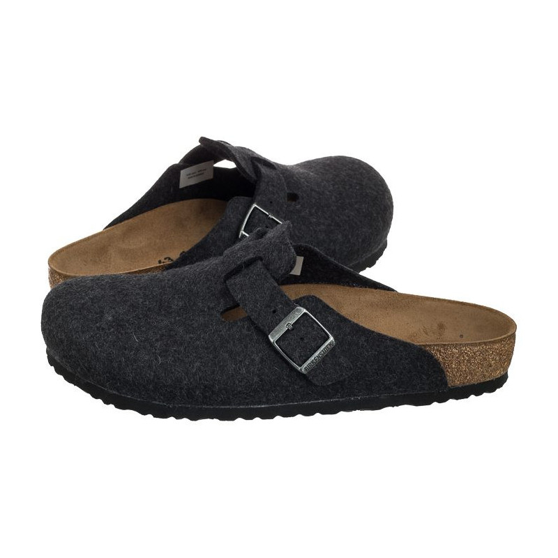 Birkenstock Boston BS Anthracite 0160371 (BK78-a) avalynė