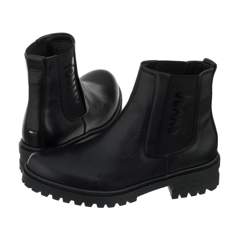 Tommy Hilfiger Essential Cleated Ch EN0EN00242 990 Black (TH15-a) batai