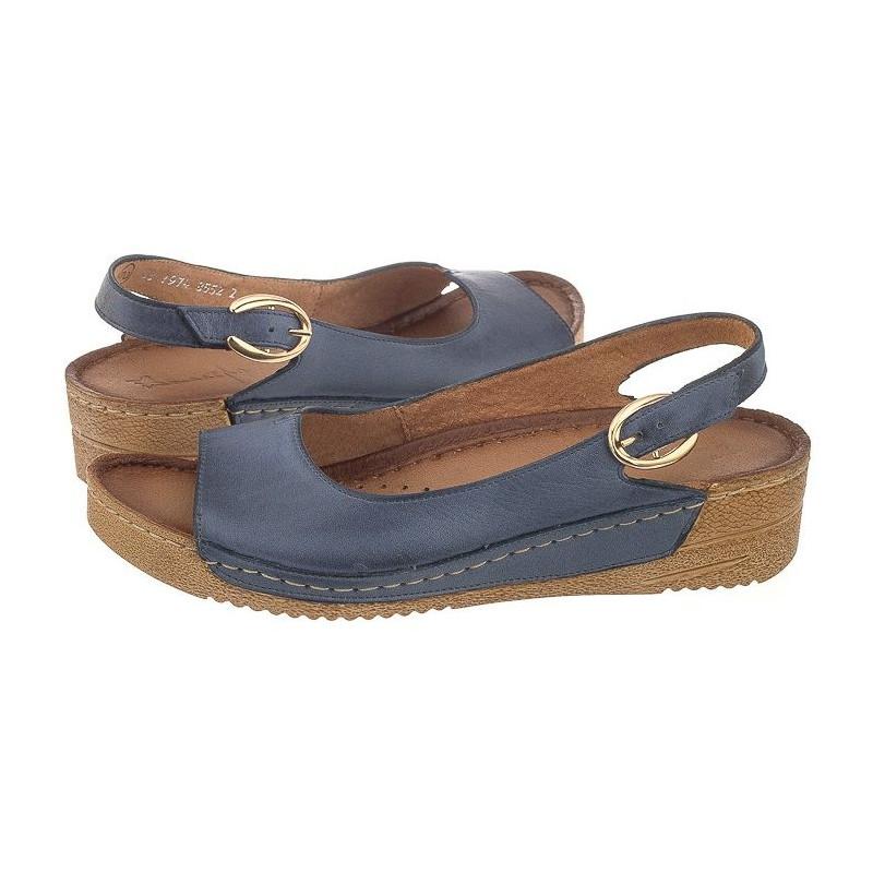 Maciejka Niebieskie 01974-17 (MA73-f) sandalai