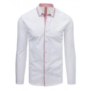 Marškiniai (Koszula męska elegancka biała DX1617 - Drabuziai rubai internetu