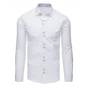 Marškiniai (Koszula męska elegancka biała DX1621 - Drabuziai rubai internetu