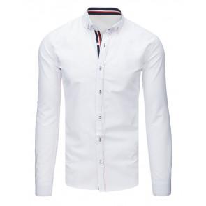 Marškiniai (Koszula męska elegancka biała DX1630 - Drabuziai rubai internetu