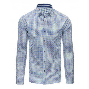 Marškiniai (Koszula męska elegancka biała DX1679 - Drabuziai rubai internetu