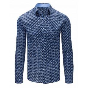 Marškiniai (Koszula męska elegancka czarna DX1680 - Drabuziai rubai internetu