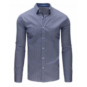 Marškiniai (Koszula męska elegancka biała DX1663 - Drabuziai rubai internetu