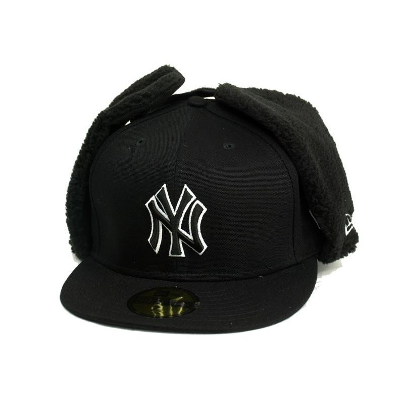 New Era Allcan Houston New York Yankees Cap - Black / White kepurė