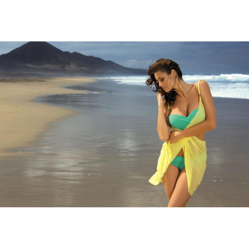Kostium kąpielowy Carmelita Maldive M-239 Zielony (250) maudymosi kostiumėlis