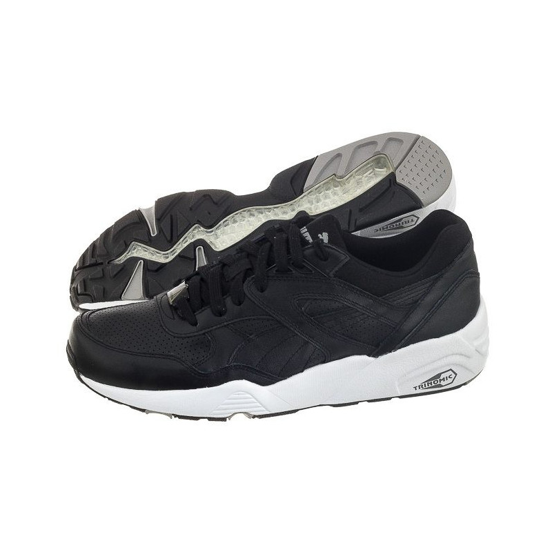 Puma R698 Core Leather 360601-02 Black (PU360-a) bateliai