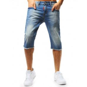 Šortai (Spodenki jeansowe męskie niebieskie SX0720 - Drabuziai rubai internetu