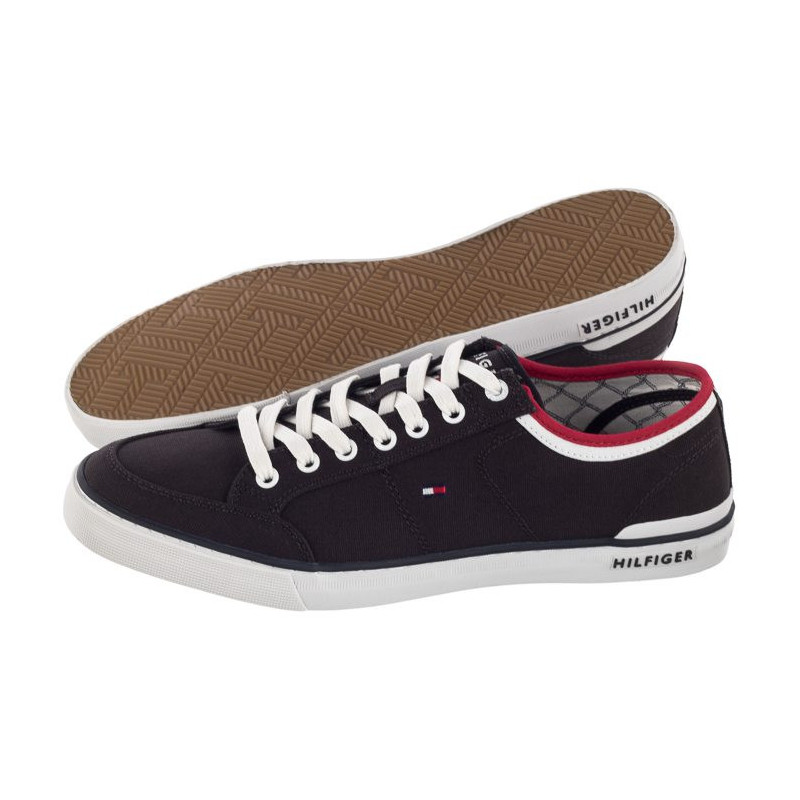 Tommy Hilfiger Core Corporate Textile Sneaker FM0FM00543 403 Midnight (TH30-a) bateliai