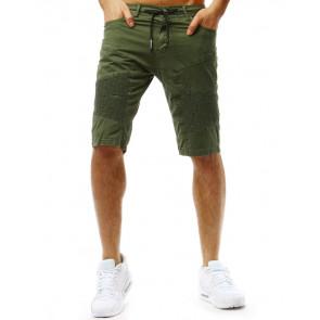 Šortai (Spodenki szorty męskie zielone SX0731 - Drabuziai rubai internetu