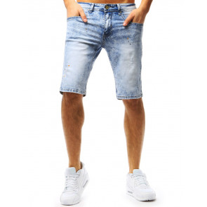 Šortai (Spodenki jeansowe męskie niebieskie SX0755 - Drabuziai rubai internetu