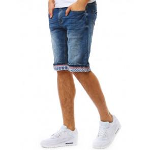 Šortai (Spodenki jeansowe męskie niebieskie SX0778 - Drabuziai rubai internetu