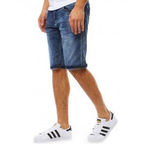 Šortai (Spodenki jeansowe męskie niebieskie SX0783 - Drabuziai rubai internetu