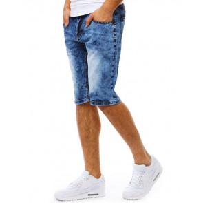 Šortai (Spodenki jeansowe męskie niebieskie SX0785 - Drabuziai rubai internetu