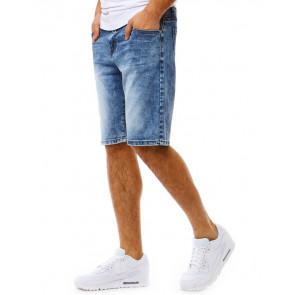 Šortai (Spodenki jeansowe męskie niebieskie SX0787 - Drabuziai rubai internetu