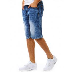 Šortai (Spodenki jeansowe męskie niebieskie SX0792 - Drabuziai rubai internetu