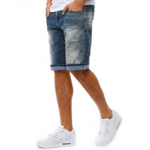 Šortai (Spodenki jeansowe męskie niebieskie SX0803 - Drabuziai rubai internetu