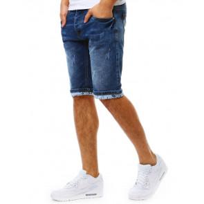 Šortai (Spodenki jeansowe męskie niebieskie SX0804 - Drabuziai rubai internetu