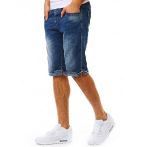 Šortai (Spodenki jeansowe męskie niebieskie SX0805 - Drabuziai rubai internetu