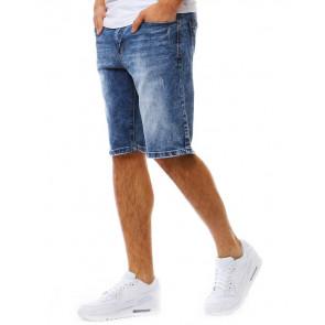 Šortai (Spodenki jeansowe męskie niebieskie SX0806 - Drabuziai rubai internetu