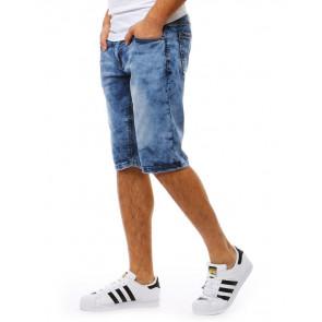Šortai (Spodenki męskie jeansowe niebieskie SX0816 - Drabuziai rubai internetu