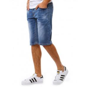Šortai (Spodenki jeansowe męskie niebieskie SX0818 - Drabuziai rubai internetu