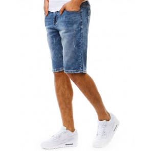 Šortai (Spodenki jeansowe męskie niebieskie SX0789 - Drabuziai rubai internetu