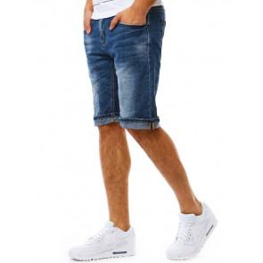 Šortai (Spodenki jeansowe męskie niebieskie SX0812 - Drabuziai rubai internetu